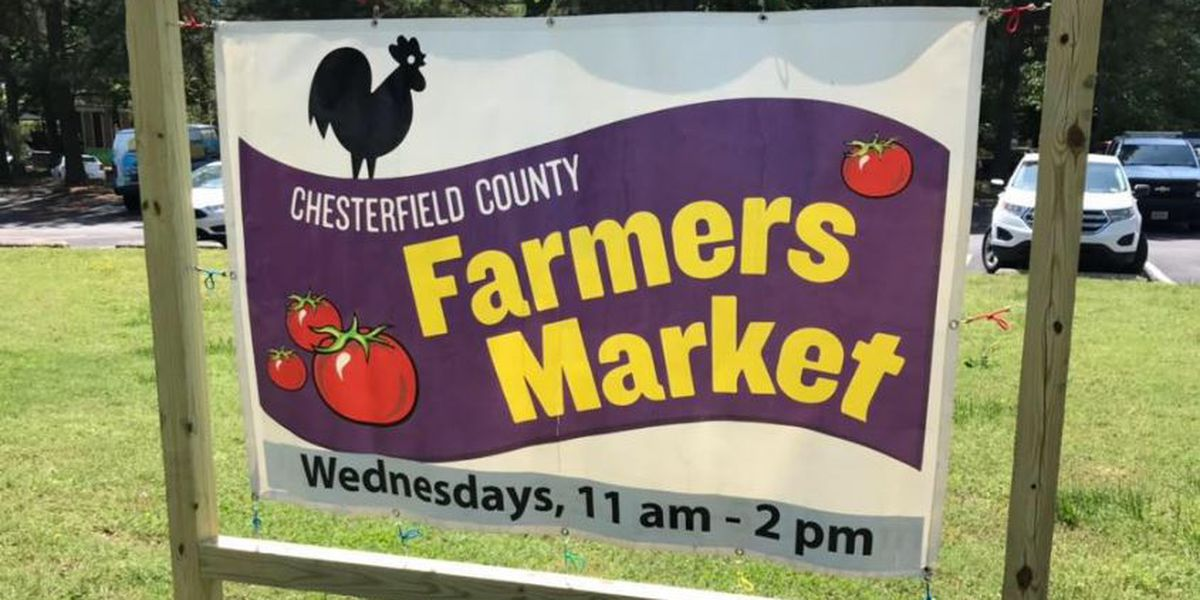 Chesterfield Farmer's Market celebrates Farmer's Market Week