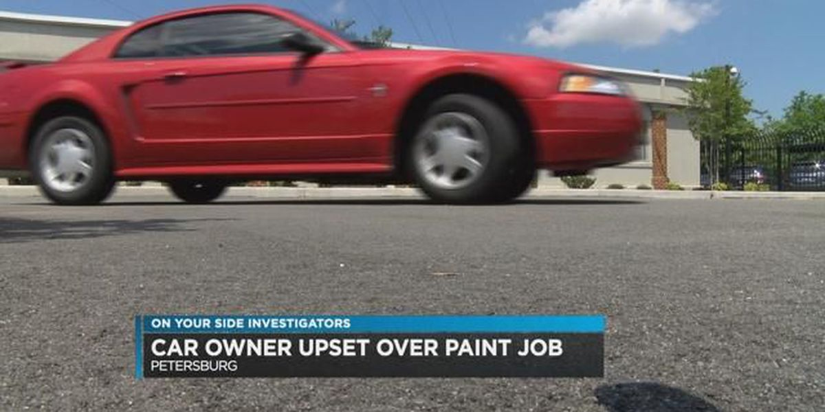 On Your Side: Petersburg woman suing Maaco over car painting problems