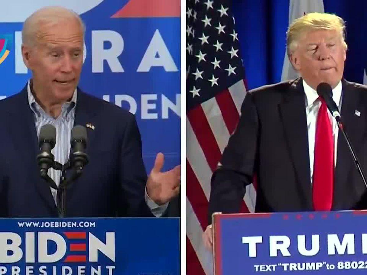 Biden has five-point lead in Virginia ahead of Trump, according to poll