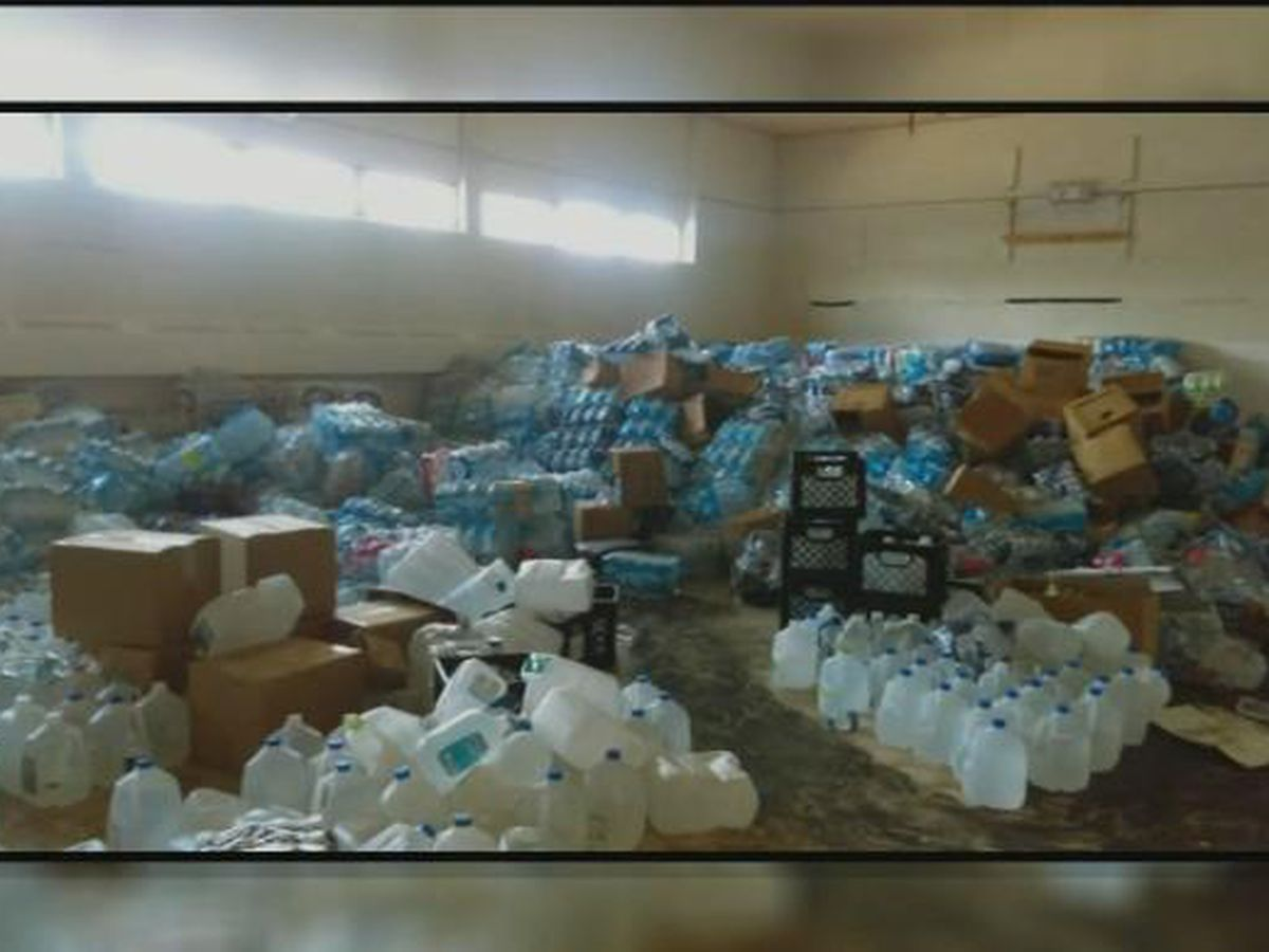Urban explorers discover vacant building in Flint filled with cases of unused water