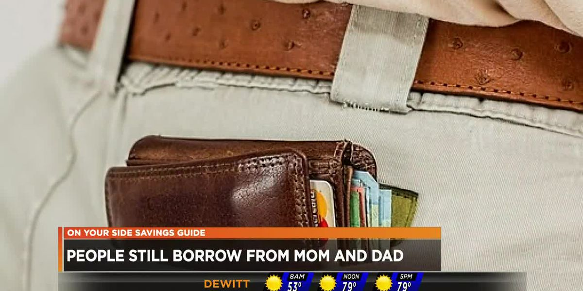 People still borrowing from parents