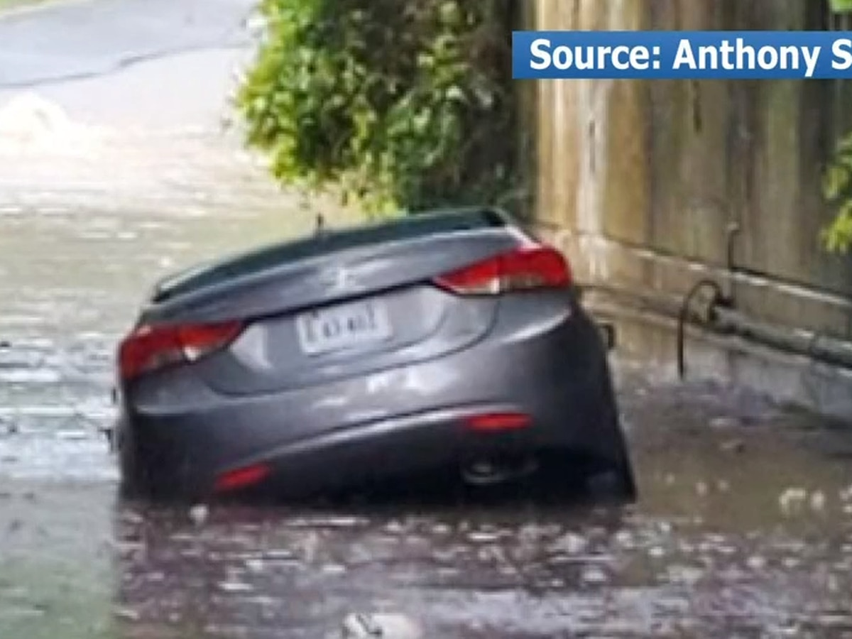 Rain floods roads across Central Virginia after more heavy rain; drivers rescued