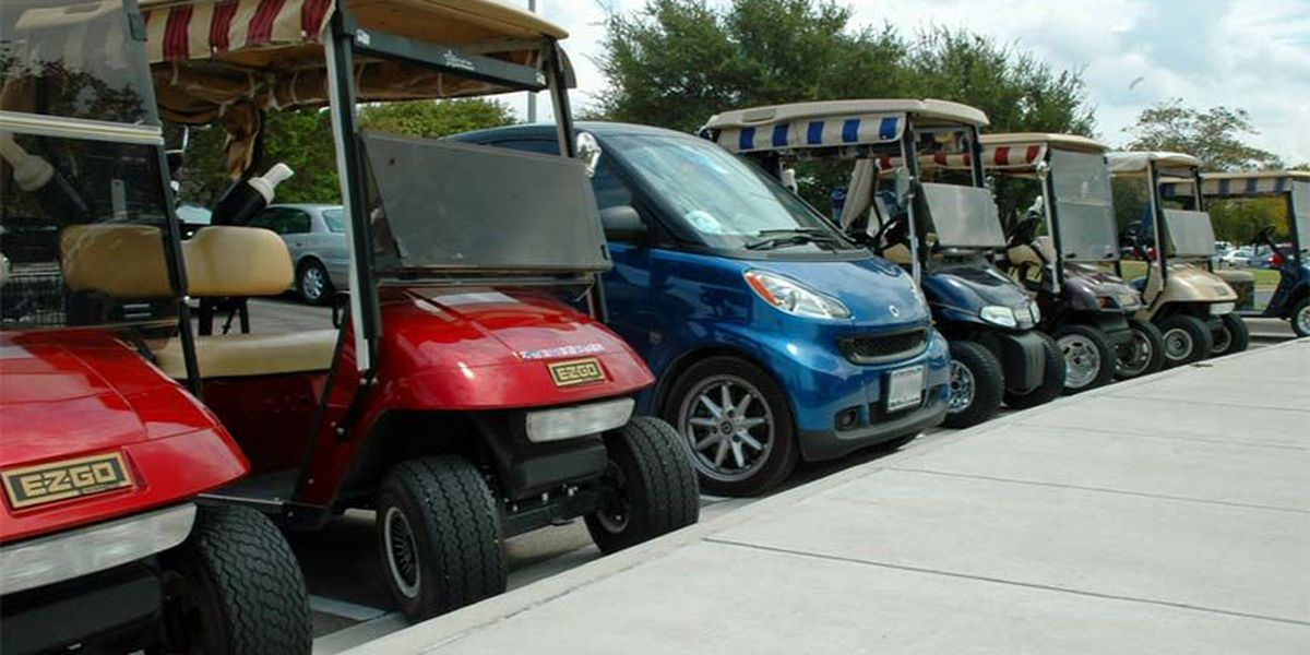 Town seeks state law to putter around in golf carts