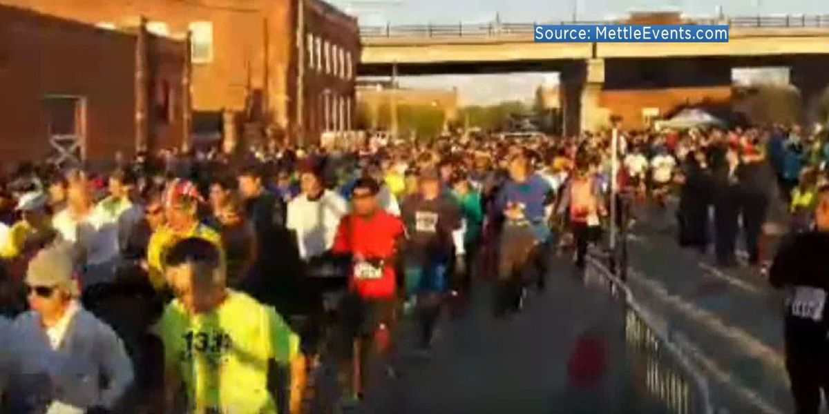 Runners descended on Petersburg for half-marathon, 5k