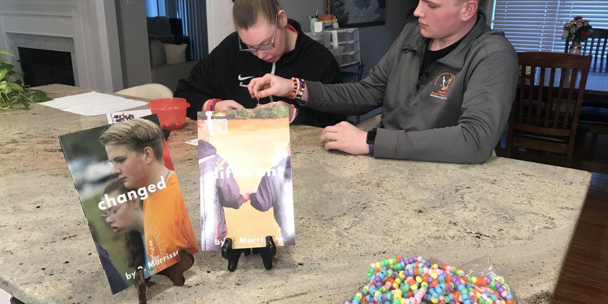 Family celebrates 'different abilities' through custom bracelets, books