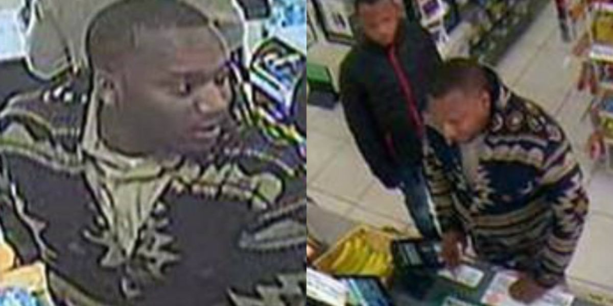 Police searching for people suspected of using stolen credit cards to buy gift cards