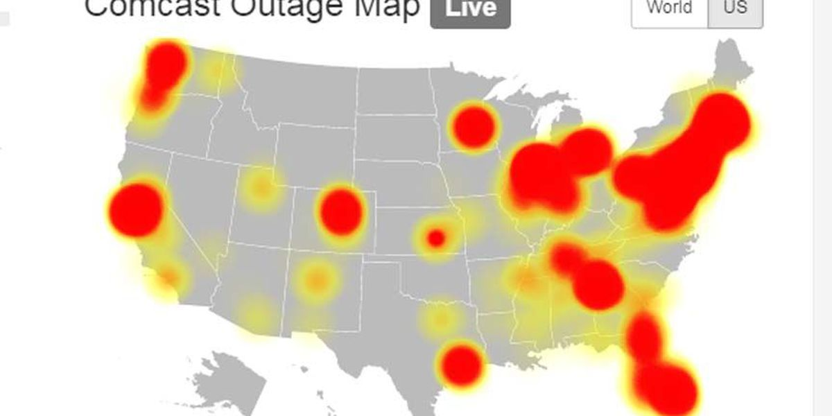 Comcast outage leaves some in Richmond-area without service