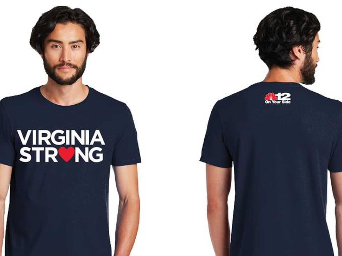 NBC12 selling 'Virginia Strong' t-shirts to benefit Central Virginia COVID-19 Response Fund