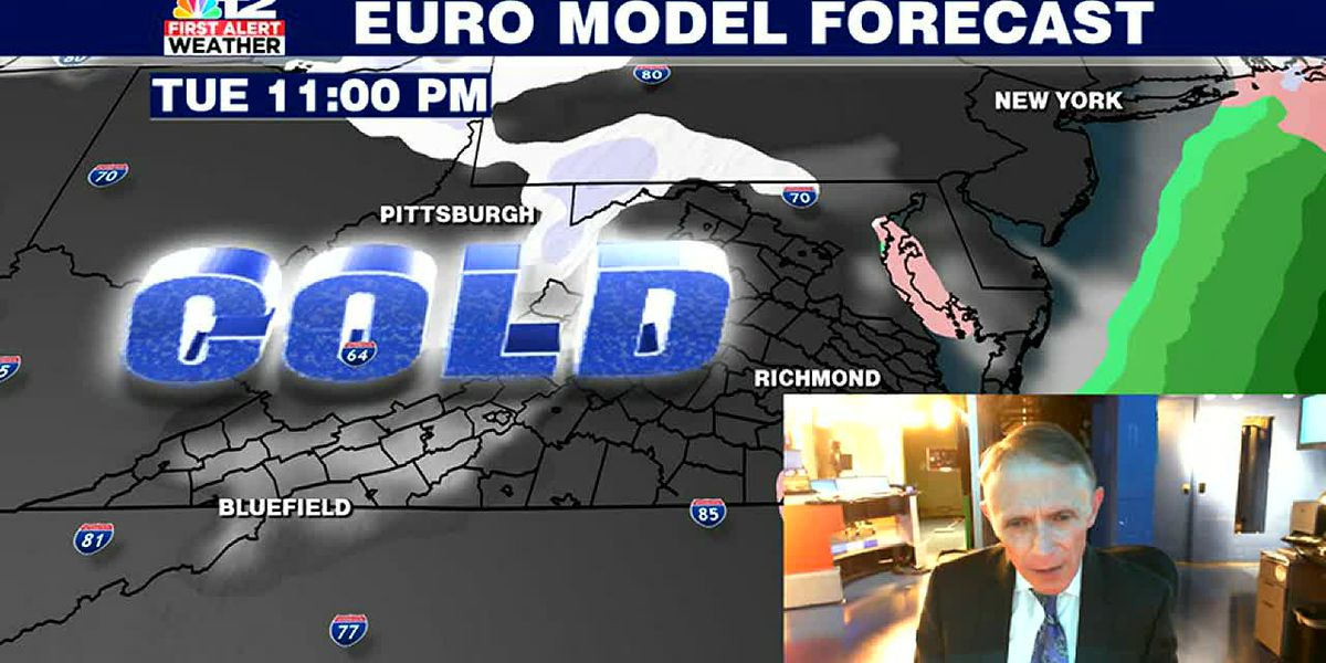 Coldest air of season arrives Tuesday night-Wednesday