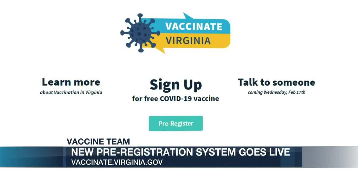 Virginia's launches new, centralized COVID-19 vaccine registration website