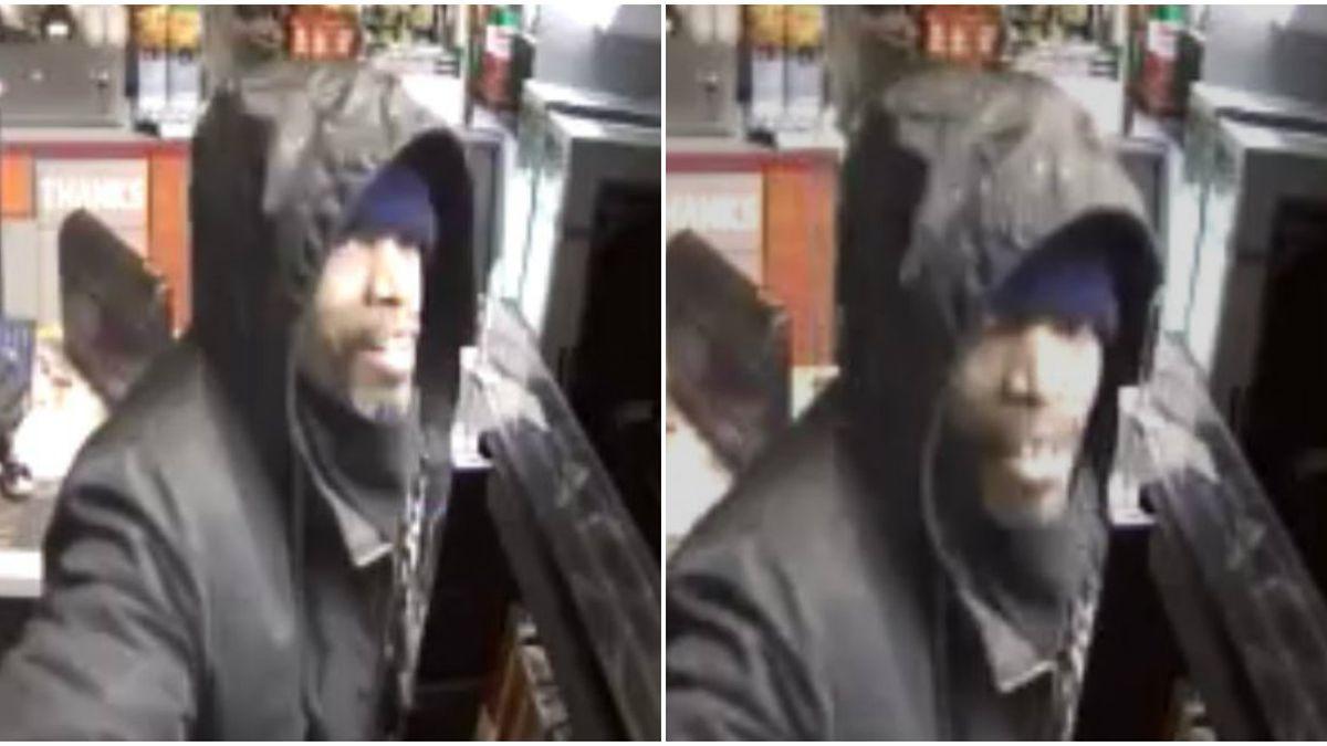 Police need help identifying burglar who stole cigarettes
