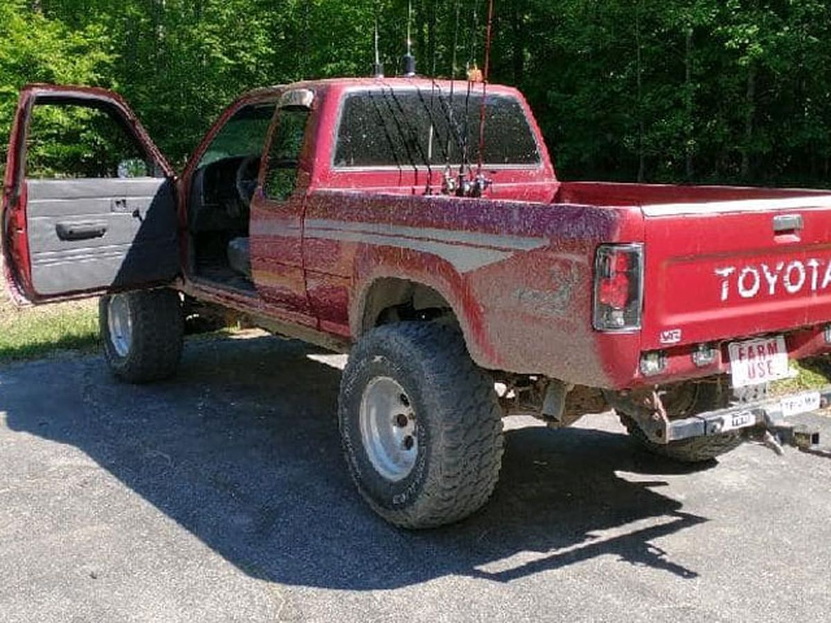 Truck sought after it was stolen from residence in New Kent County