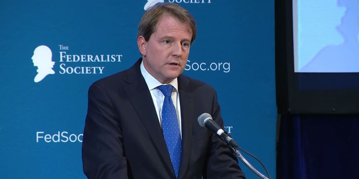 Appeals court issues stay for former White House counsel