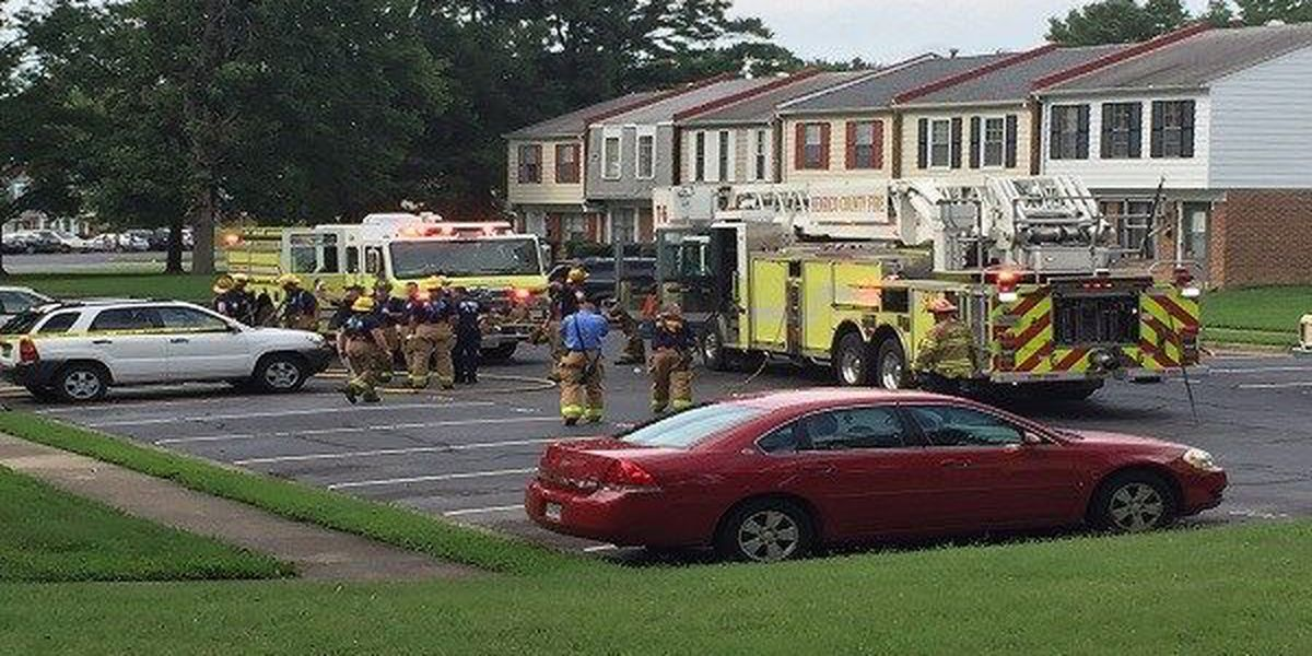 Person found dead after townhouse fire in Henrico