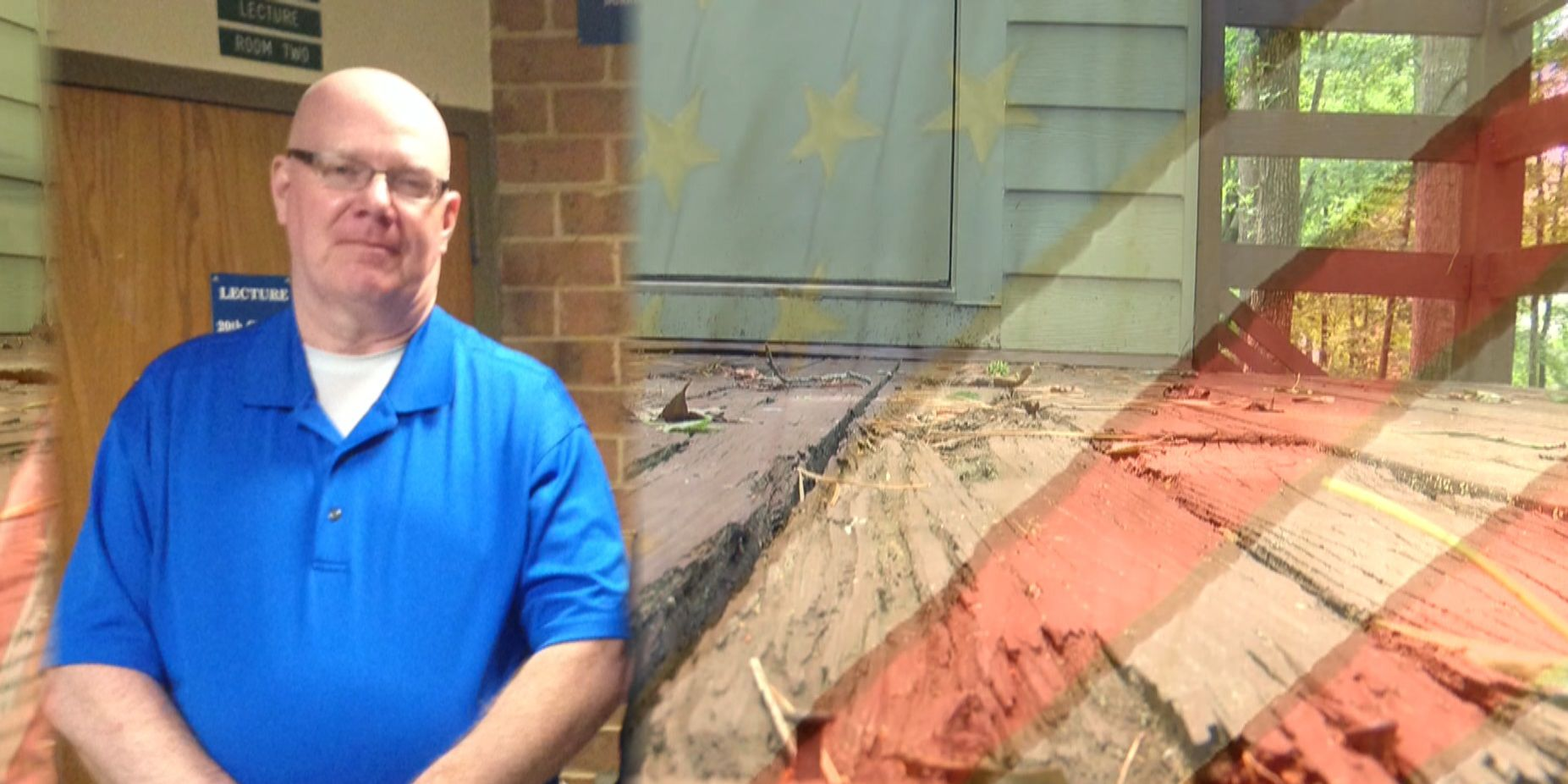 Veteran's family seeks help repairing deck for loved one with cancer