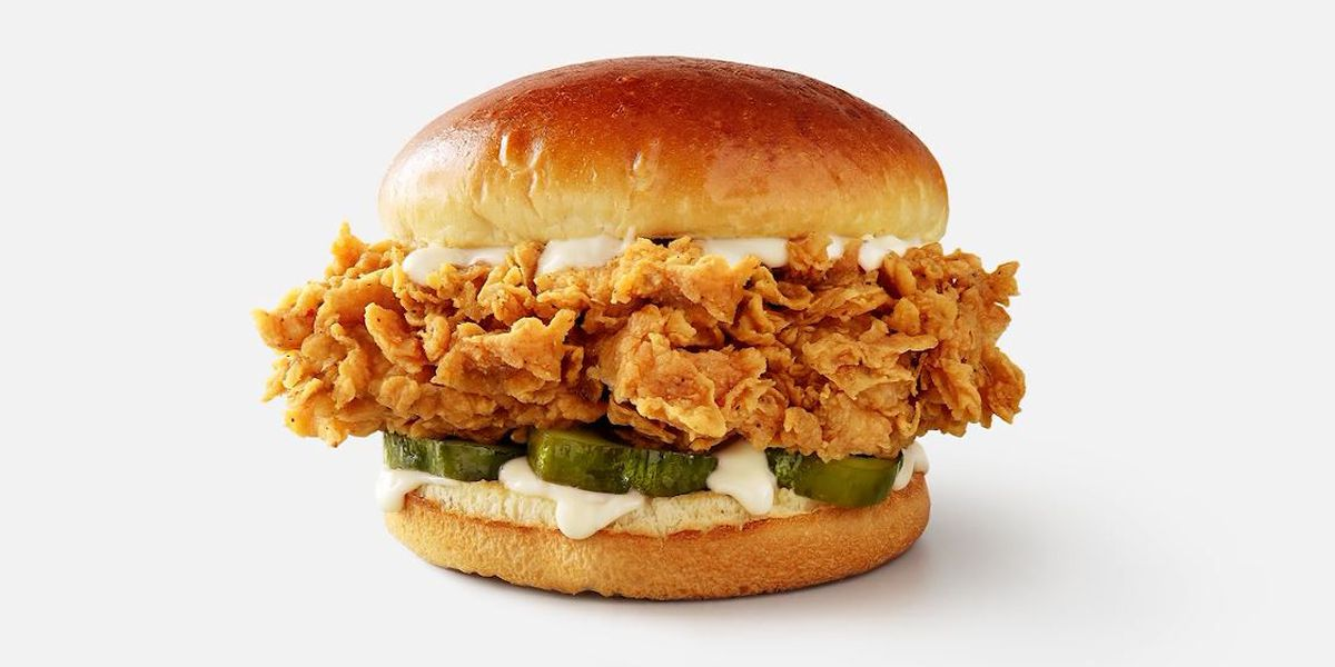 KFC tests a new chicken sandwich