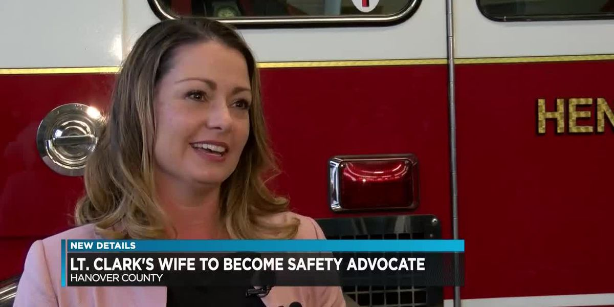 Lt. Clark's wife to become safety advocate to carry out husband's legacy