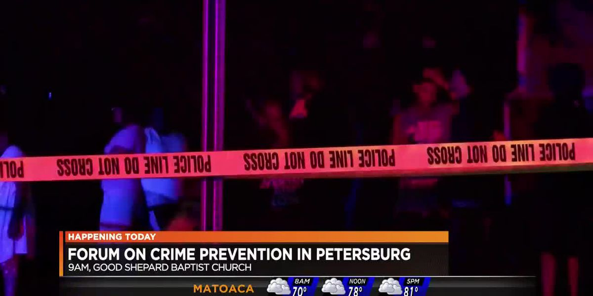 Petersburg to host forum to discuss crime prevention
