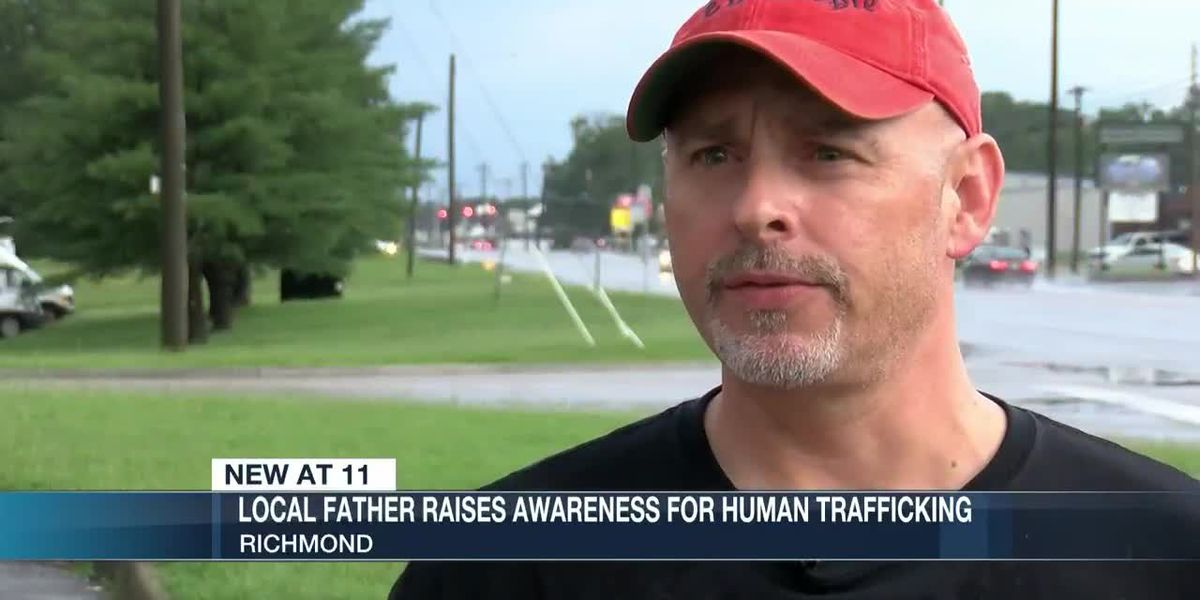 Richmond father raises awareness for human trafficking