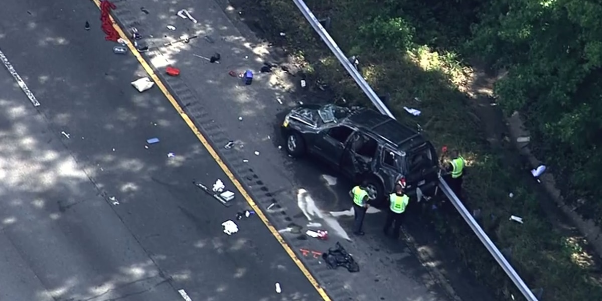 2 killed, others injured in crash that caused 11-mile backup on I-95 N in Virginia