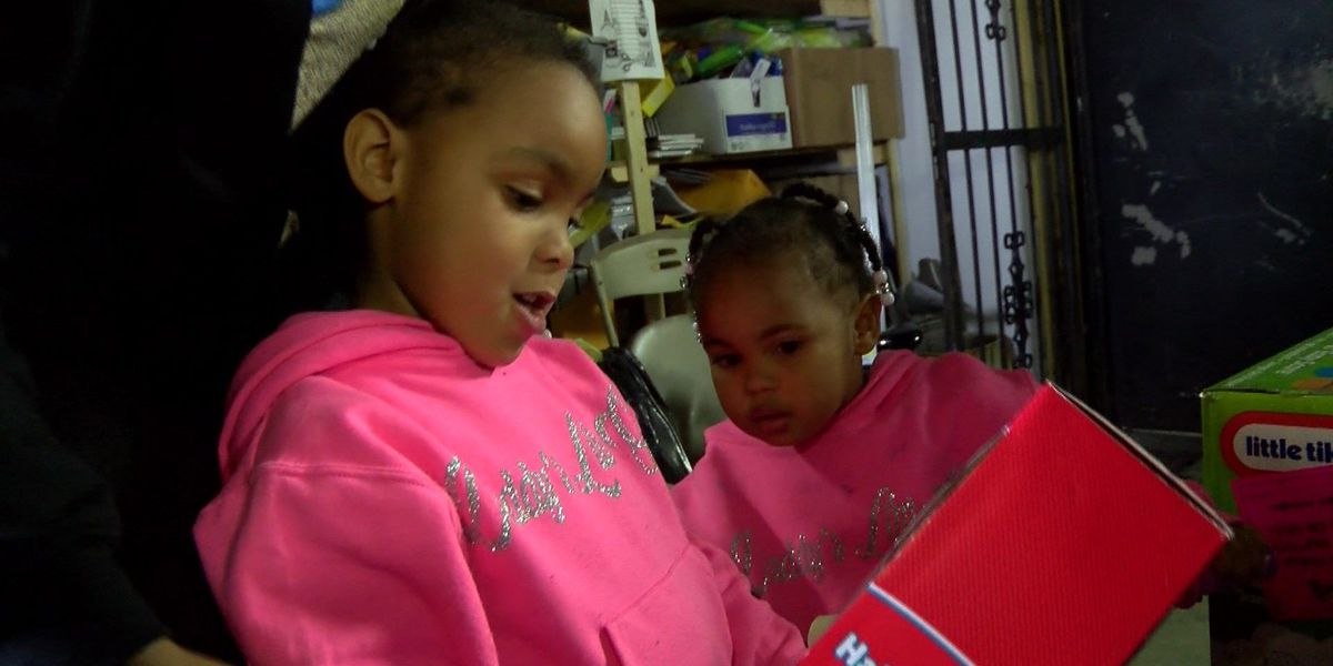 Foundation helps children of murder victims during Christmas