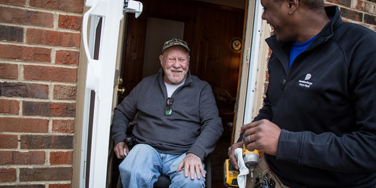 Dominion Energy kicks off '100 homes for 100 veterans' project