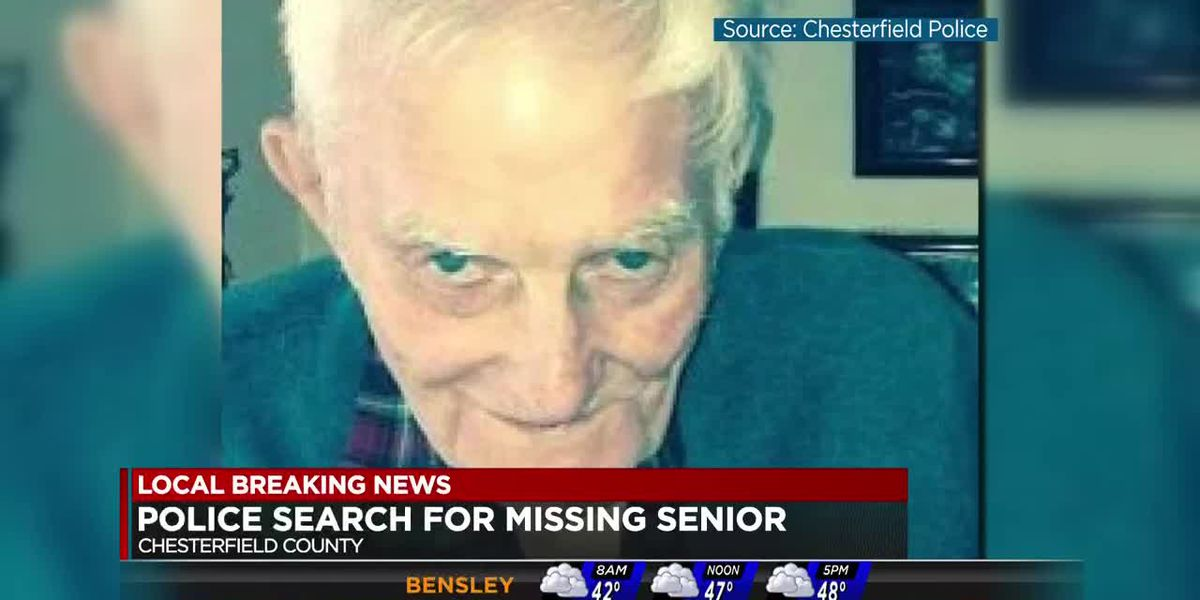 Senior citizen missing in Chesterfield County
