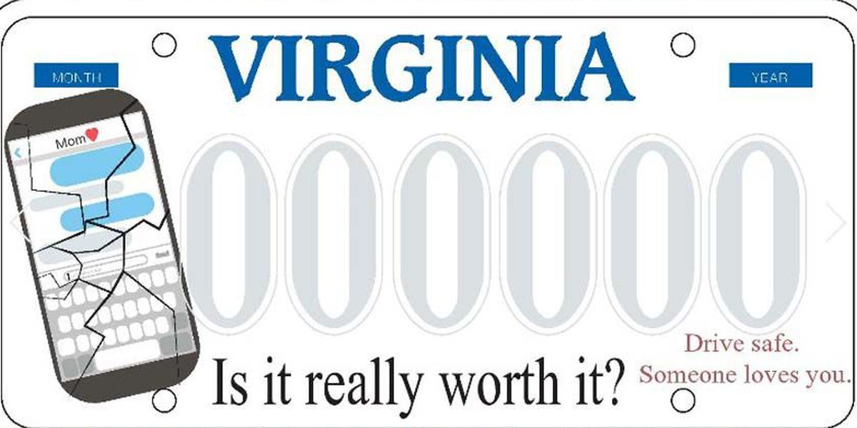 Chesterfield high school student rewarded for license plate design