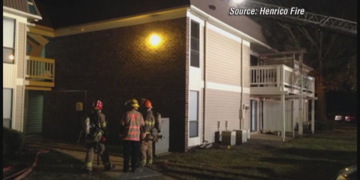 Henrico crews investigating apartment fire that started in mailbox as arson