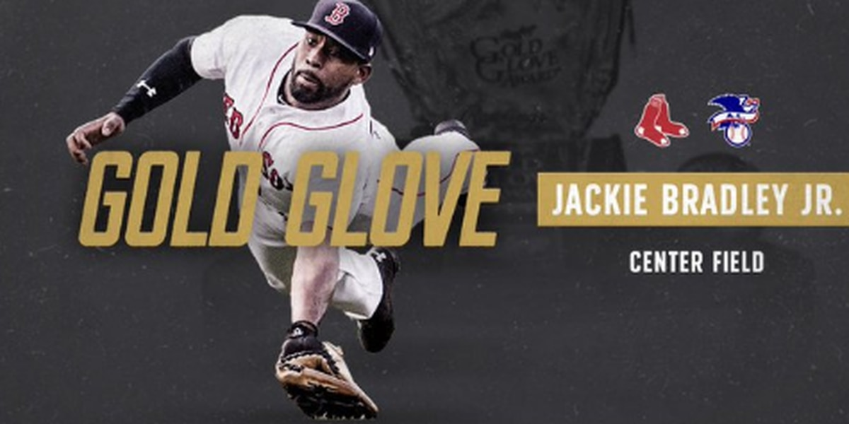 Jackie Bradley Jr named Gold Glove winner
