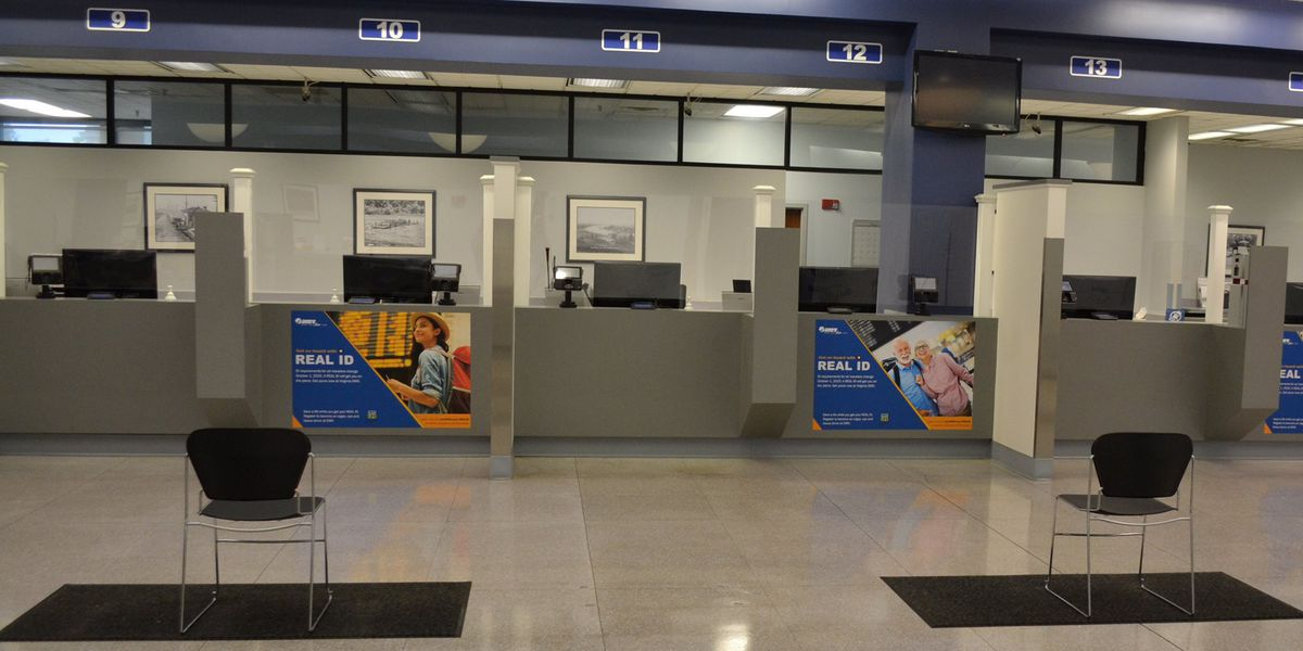 DMV reopens another 5 locations, including one in Central Virginia