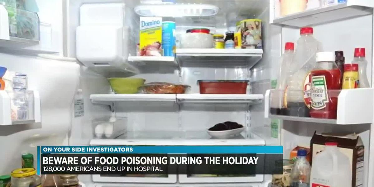 Beware of food poisoning during the holiday
