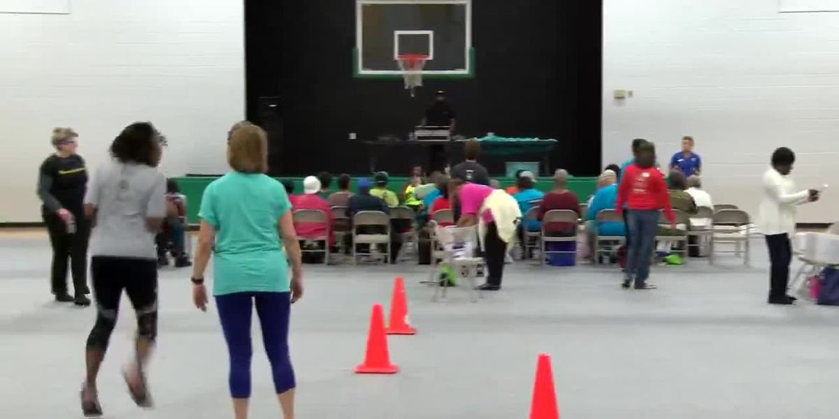 Sports Backers host field day for the elderly
