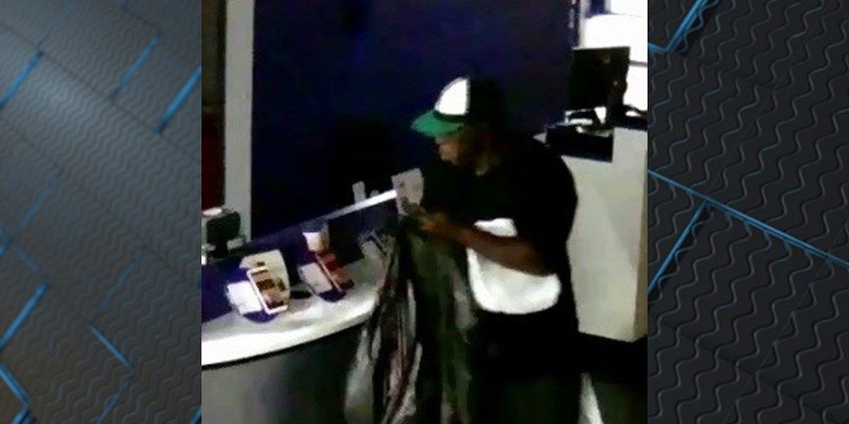 Police searching for thief who broke into Richmond cell phone store