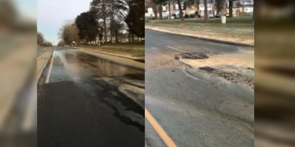 Water main break causes Henrico road closure