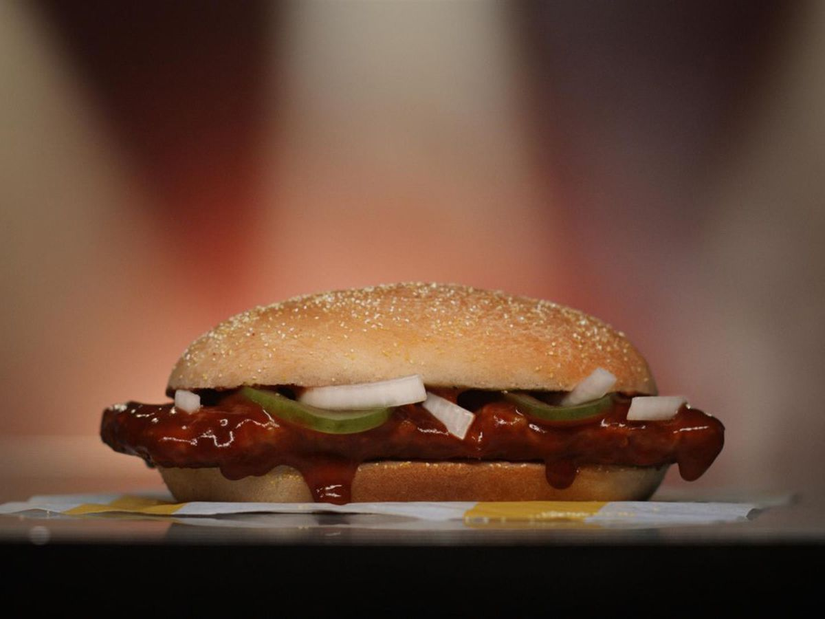 The McRib returns to Richmond-area McDonald's