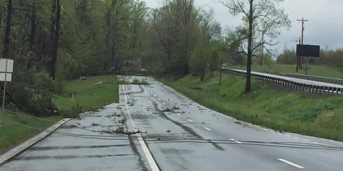Possible tornado touches down near Smith Mountain Lake