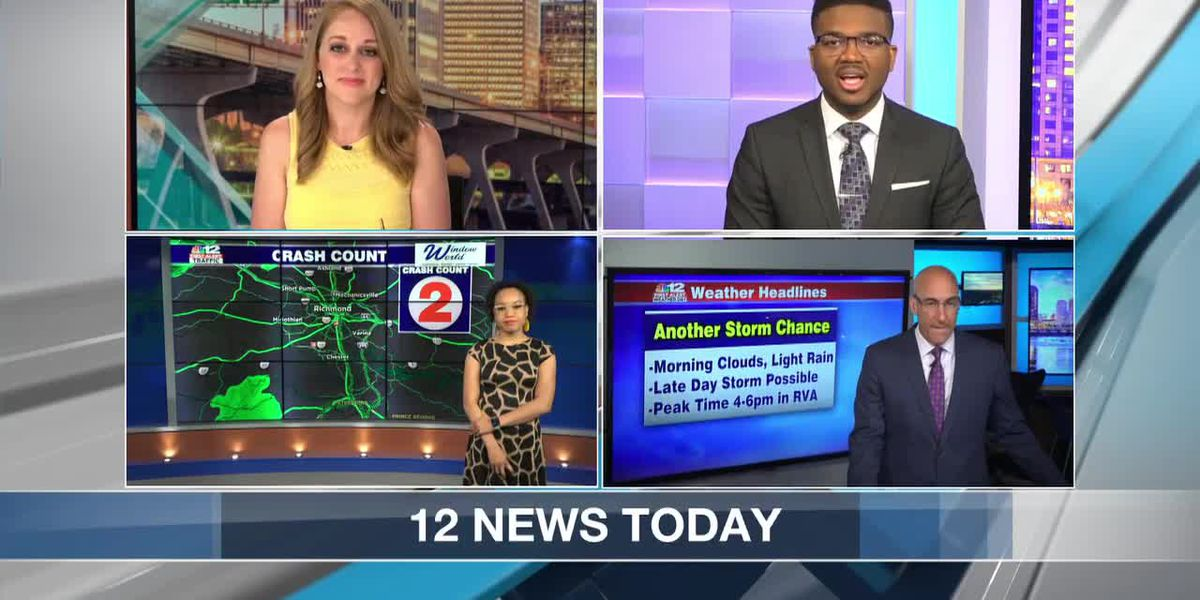 News to Know for May 5: Deadly shooting suspect search; Virginia storms turn deadly; Walk-up vaccines in Richmond