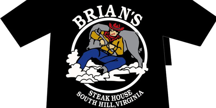 'I ♥ Brian's Steak House': T-Shirt fundraiser helps burned restaurant rebuild