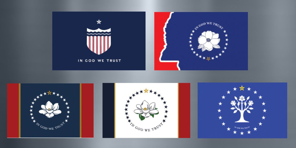 Flag Commission selects top 5 designs; final vote scheduled for September