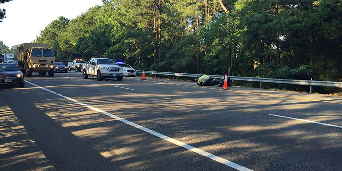 Police ID victim in fatal motorcycle accident on I-95N in Henrico