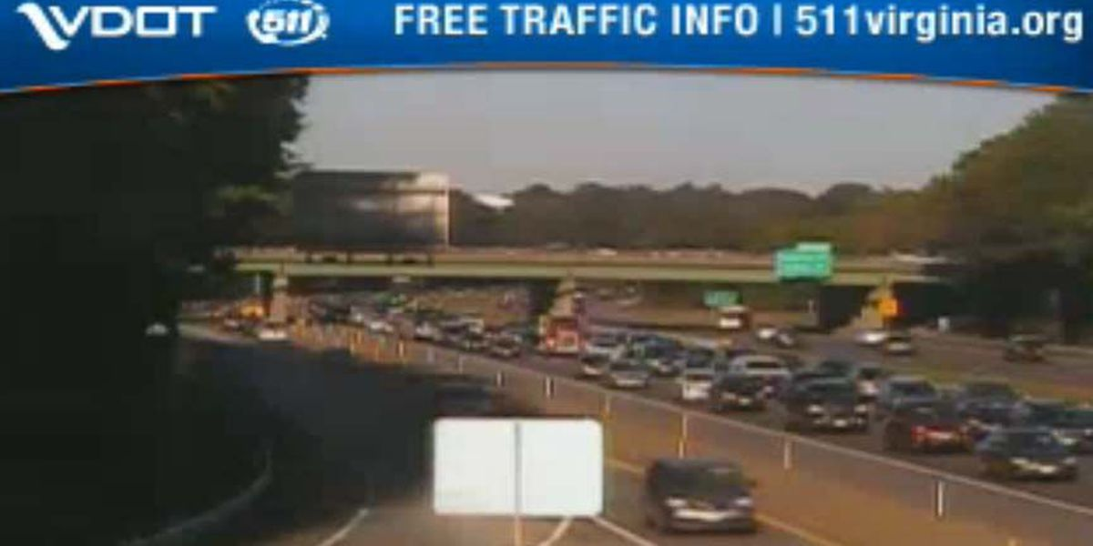 Multiple accidents close several lanes on I-64 in Henrico Tuesday morning