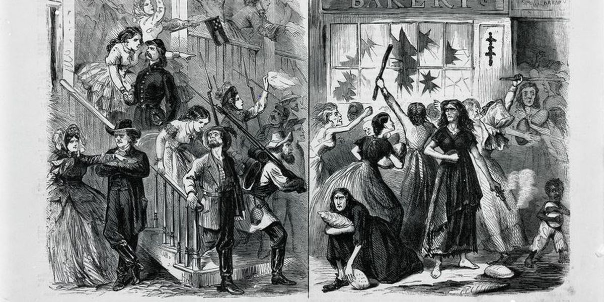 April 2, 1863: Richmond Bread Riot broke out 156 years ago