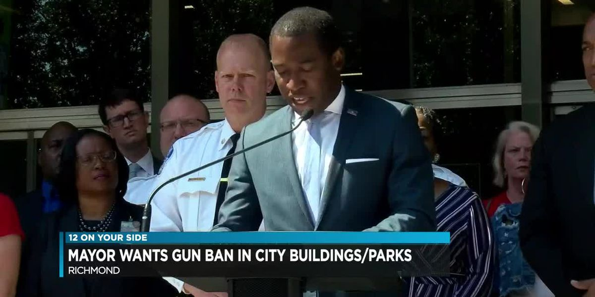 Stoney calls for 'common sense' gun ban in city buildings, parks