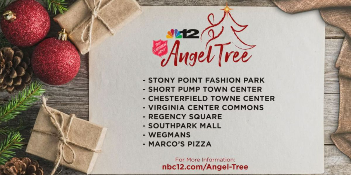 Salvation Army of Central VA kicks off Angel Tree, Red Kettle Campaigns