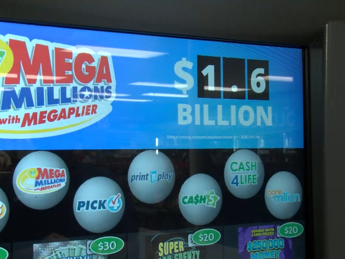 Who will be the lucky winner? $1.6 billion Mega Millions jackpot up for grabs