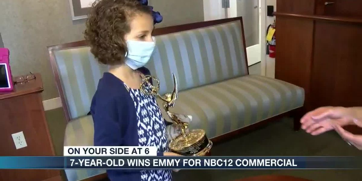 7-year-old wins Emmy for NBC12 commercial
