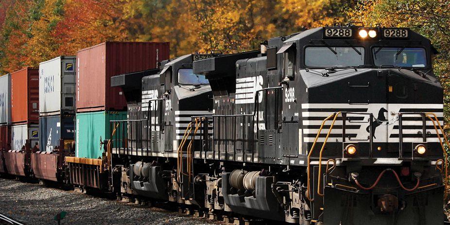 Train derails in Dinwiddie County; no injuries
