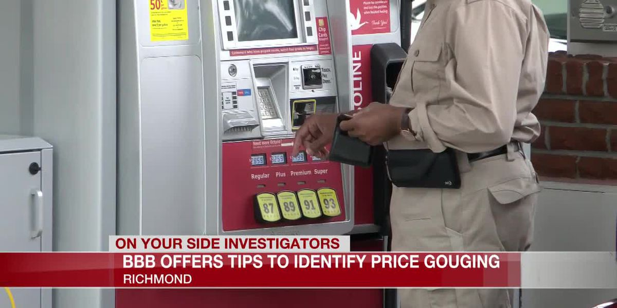 BBB offers tips to identify price gouging