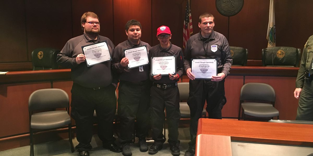 4 cadets with disabilities graduate from Chesterfield 'Growth Through Opportunity' program